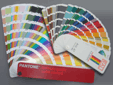 Panton and RAL colour matching swatch