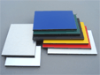 Dibond material for signs