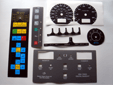 Machine keypads and instrument dials